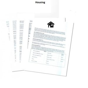 HOA/landlord Form